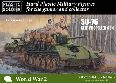 15mm Russian SU76 self propelled gun