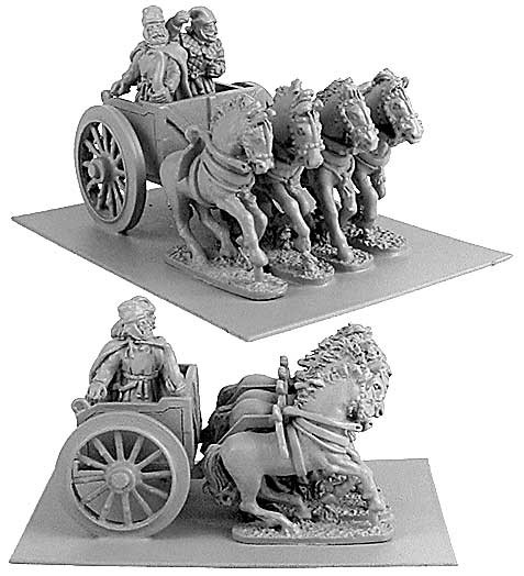 Persian General in Chariot