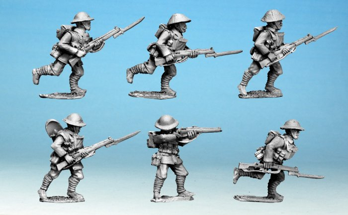 British Infantry Advancing