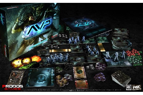 Photo of  Alien vs Predator TM: The Hunt Begins Board Game (AVP001)