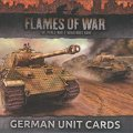Photo of FOW: German Unit Cards (FW130g)