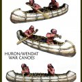 Photo of Huron/Wendat War Party Canoes (CC-66004)