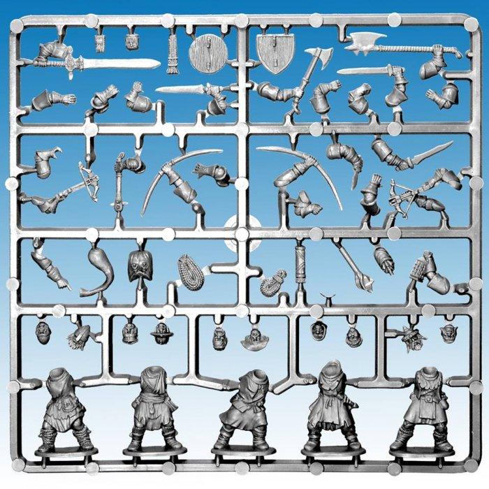 Frostgrave Soldiers-Single Frame