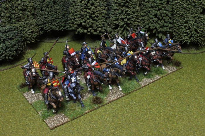 Medieval Knights (16 Plastic Mounted Figures)