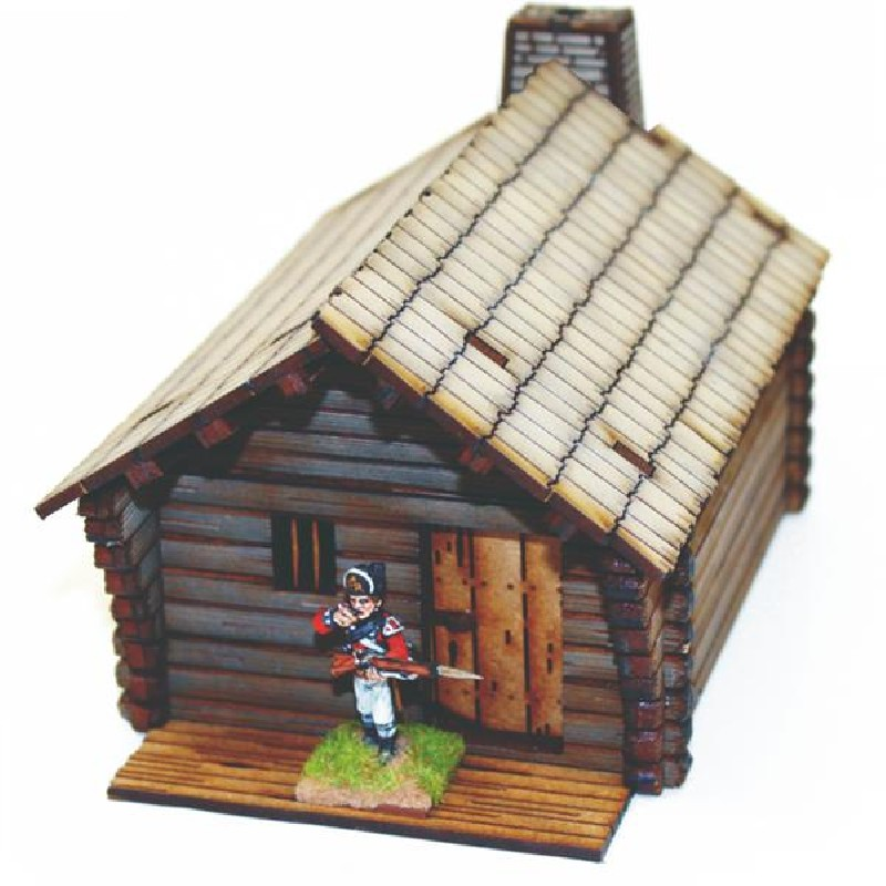Pioneers Log Timber Cabin 1