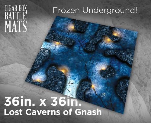 Photo of LOST CAVERNS OF GNASH - 3'X3 (CBM280)