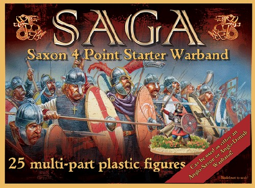 Plastic Saxon (Anglo Dane) Starter (4 point)