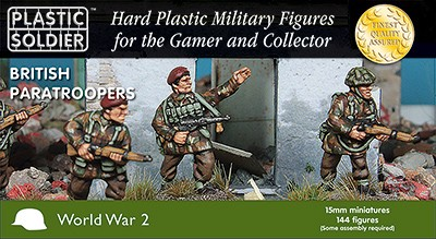 15mm British Paratroopers 1944-45