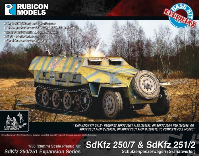 SdKfz Expansion - 250/7 & 251/2