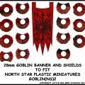 Photo of Goblin Banner & Shields 2 (GOBLIN(NS)2)
