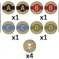 Photo of Desert Mission Token Set (x14) (TK101)
