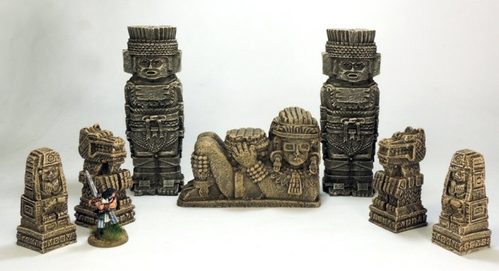 Totems, Idol and Statues Pack.