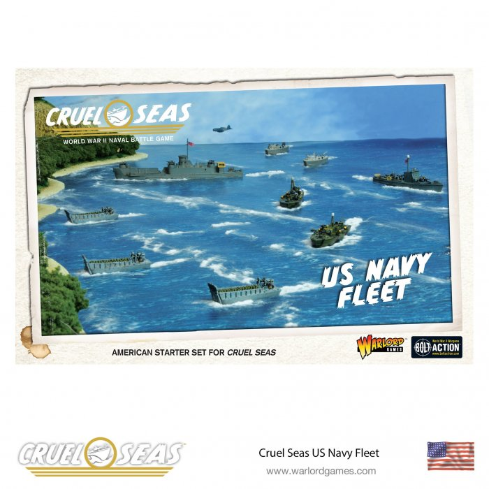 Cruel Seas US Navy Fleet