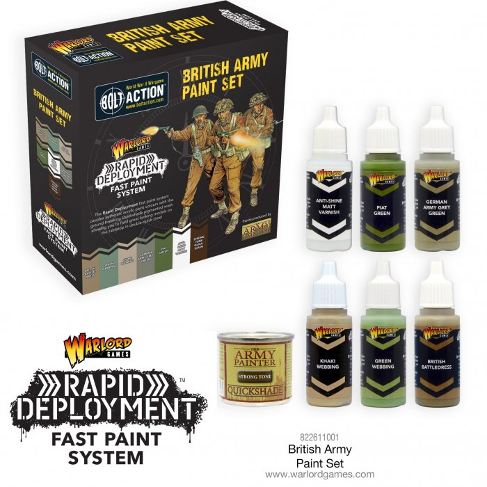 British Army Paint Set