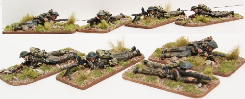 British Prone Infantry
