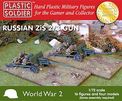 1/72nd Russian Zis2/3 anti tank and field gun