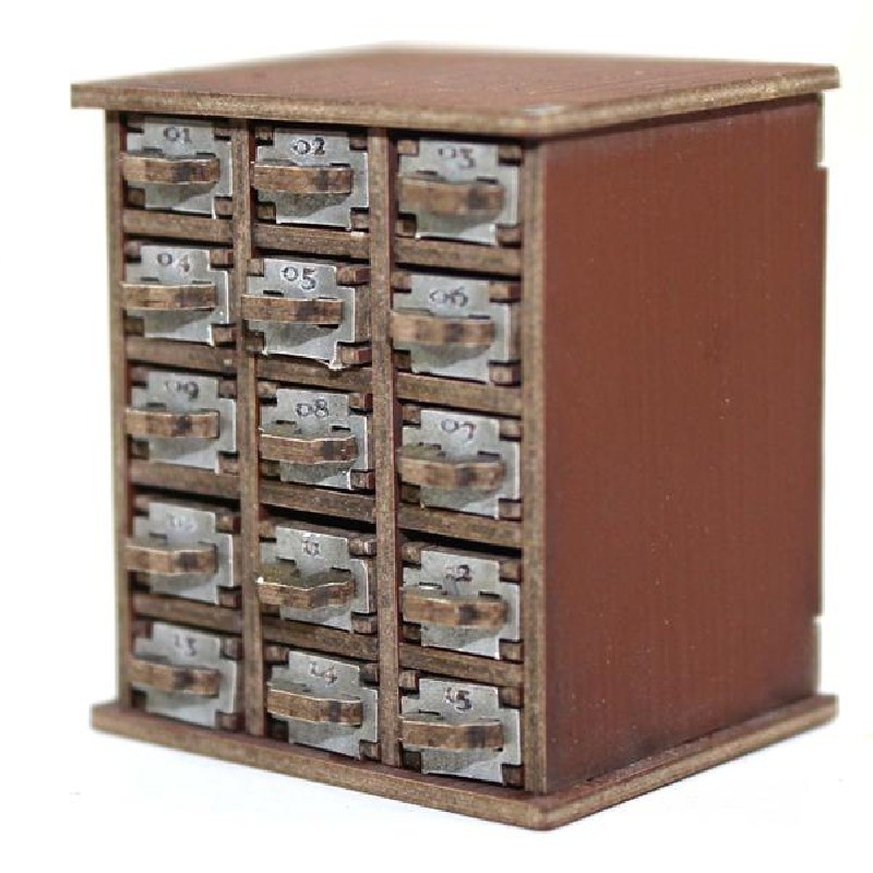 Safety Deposit Boxes 1-15