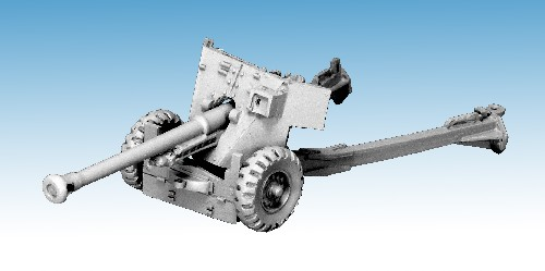 British 6 Pounder Anti-Tank Gun (Airborne version)