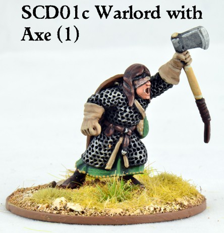 C&C Crusader Warlord with Double Handed Axe