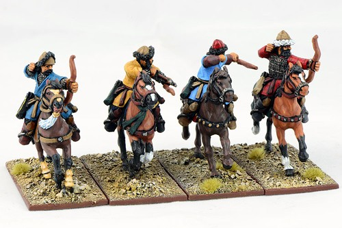 C&C Saracen Mounted Ghulams with Bows