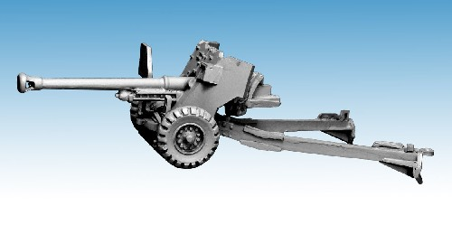 British Mark IV 6 Pounder Anti-Tank Gun