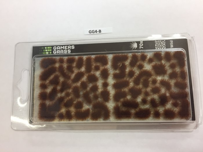 Gamers Grass Brown Tufts