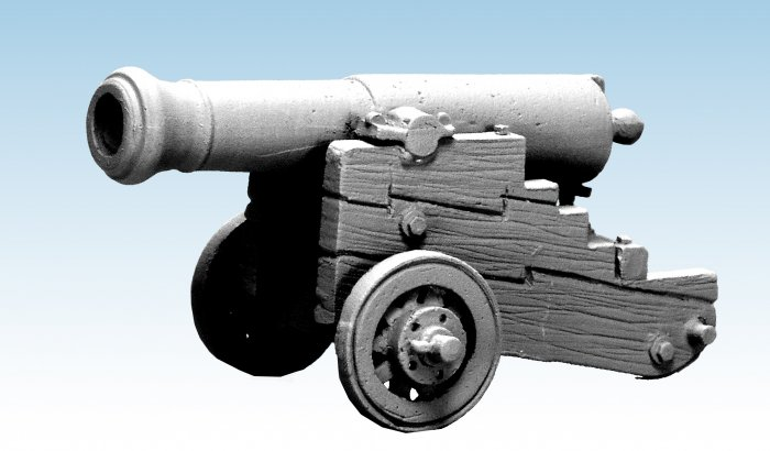 Danish Fortification Gun