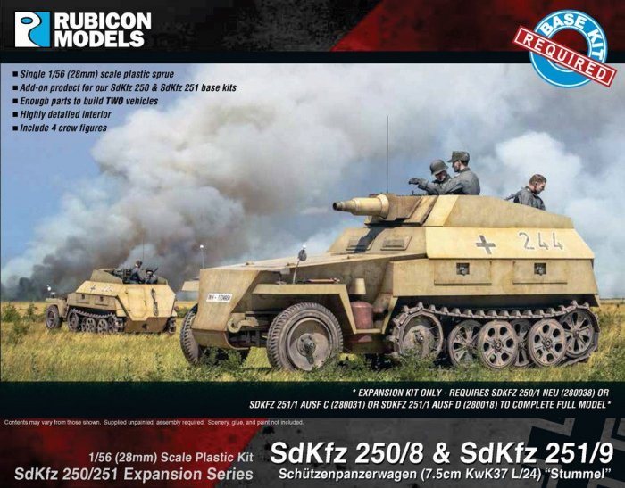 SdKfz Expansion - 250/8 & 251/9