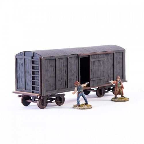 19th C. Box Car (Black)