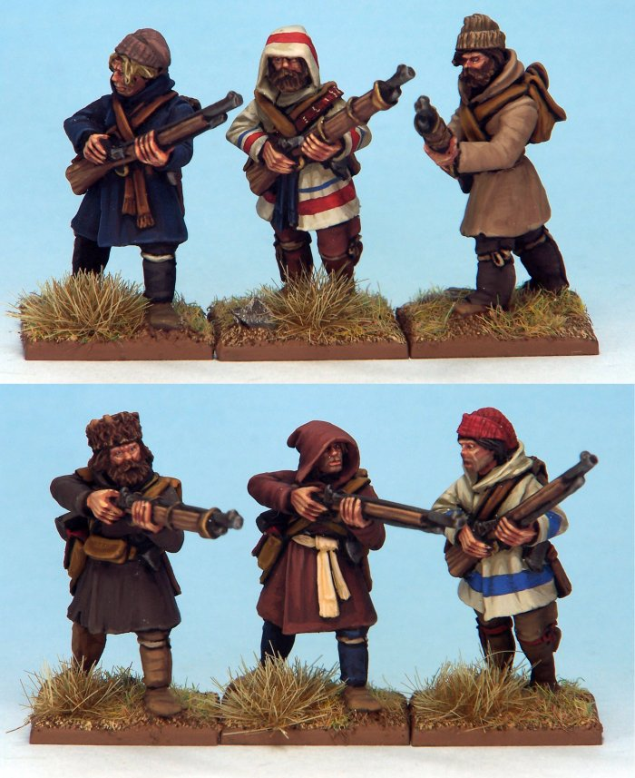 French Canadian Militia 1