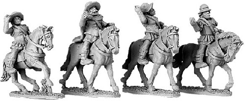 Armoured Greek Cavalry with Petasos & Pilos