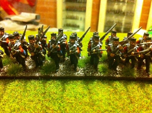 British Line Infantry Charging