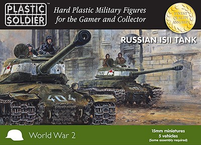 15mm WW2 Russian IS2 Tank