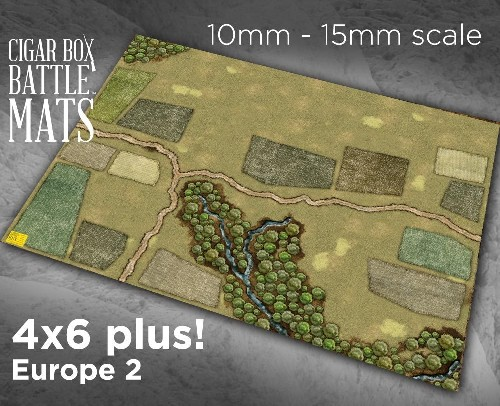 EUROPE 2 GAMING BATTLE MAT - 15mm