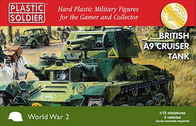 1/72nd British A9 Cruiser Tank