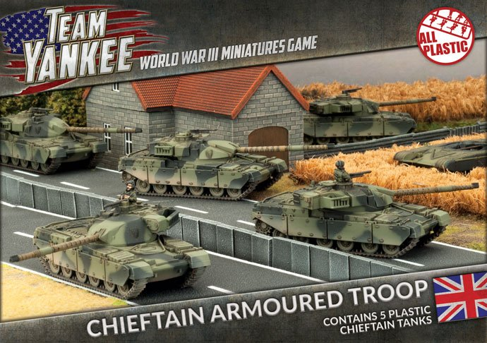 Chieftain Armoured Troop