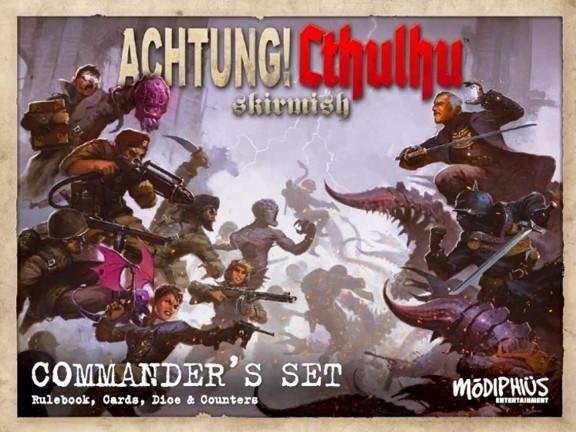 Achtung! Cthulhu Skirmish: Commanders Set