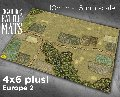 Photo of EUROPE 2 GAMING BATTLE MAT - 15mm (CBM135-15mm)