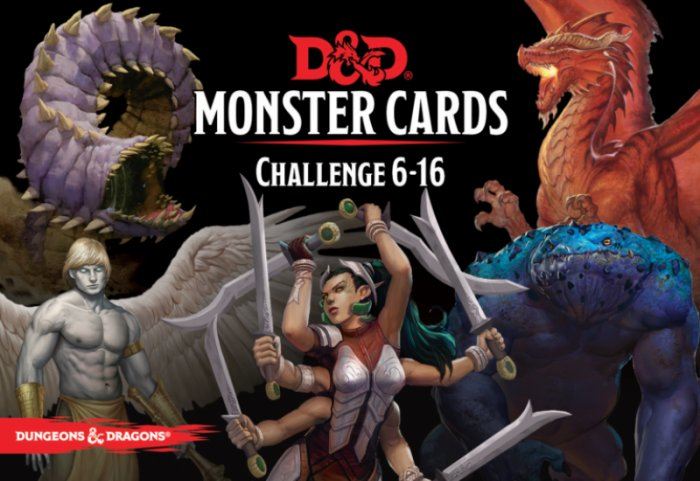 D&D Monster Cards: Challenge 6-16