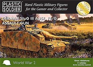 15mm Stug III F8/G Assault Gun