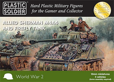 15mm Sherman M4A4/Firefly Tank