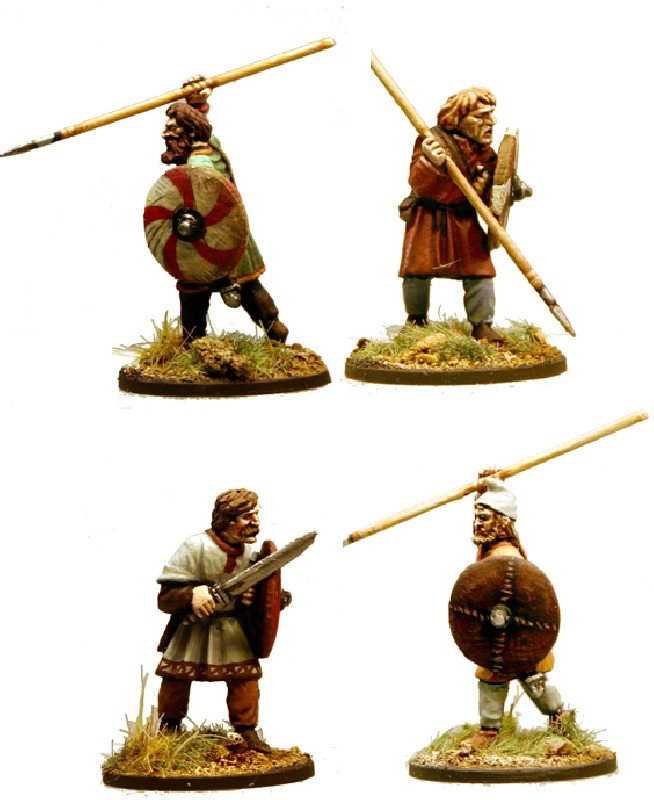 Anglo-Saxon Ceorls (Warriors)