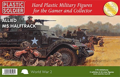 1/72nd Allied M5 Halftrack