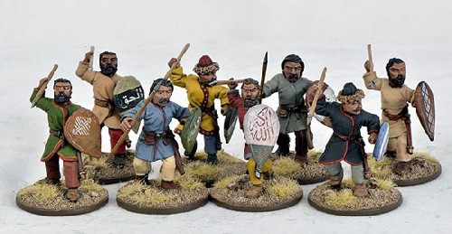 C&C Saracen Warriors on Foot