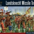 Photo of Plastic Landsknechts missile troops (202016003)