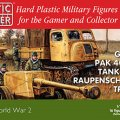 Photo of 1/72nd German Pak 40 and Raupenschlepper tractor (WW2G20005)