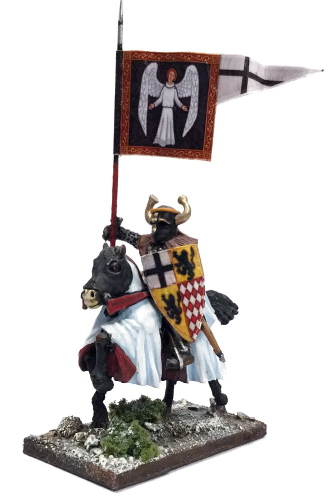 Mounted Ordenstaat War Banner & Bearer
