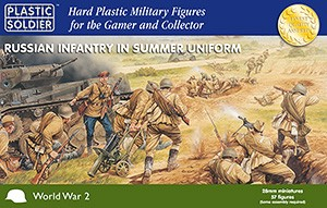 28mm Russian Infantry in Summer Uniform