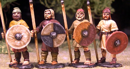 Anglo-Saxon Geburs – Spears & Shield (Levy)