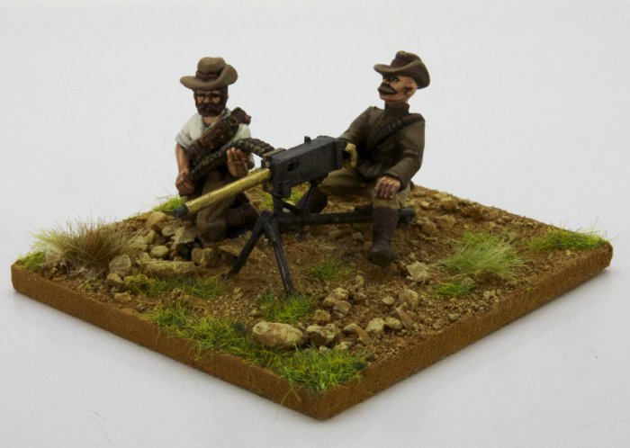 Maxim Gun and Crew